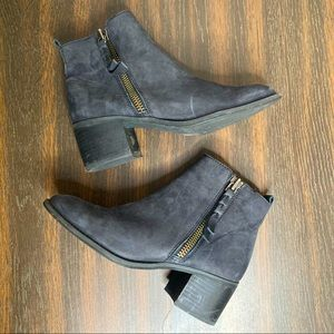 BP Nordstrom Leather Ankle Booties
